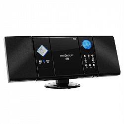 OneConcept V-12, stereo zařízení, černé, MP3, CD, USB, SD, A