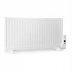 OneConcept Wallander, olejový radiátor, 1000 W, termostat, olejové vyhřívání, plochý design, bílý
