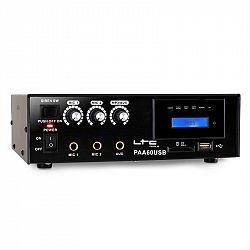 PA zesilovač LTC PAA60USB, USB, MP3, mikrofon, 12 V