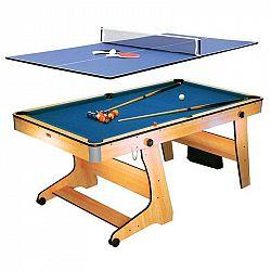 Riley FP-6TT, sklopitelný kulečníkový stůl s deskou pro stolní tenis